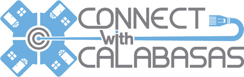 Connect with Calabasas logo